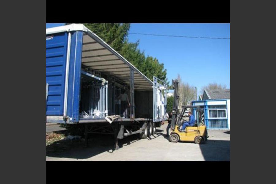 Atelier - rénovation bâtiment menuiseries aluminium 79