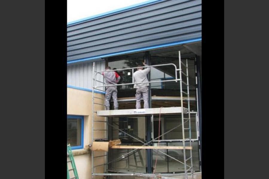 Atelier - rénovation bâtiment menuiseries métalliques la rochelle