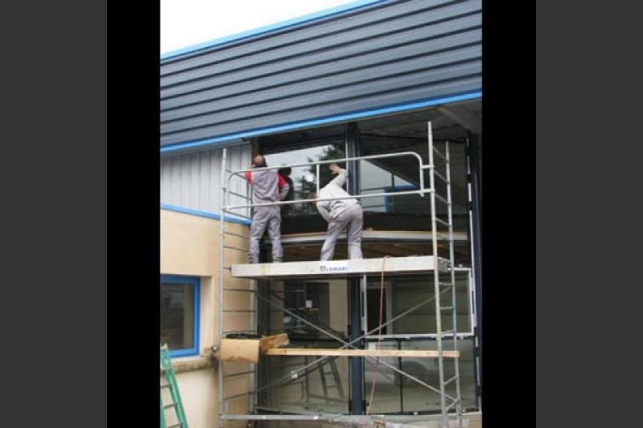 Atelier - rénovation bâtiment 17